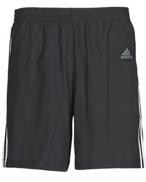 Čierne kraťasy adidas