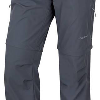 Pilon M 2019 šedá, L Pánske outdoor nohavice