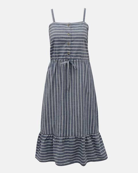 Modré šaty Vero Moda