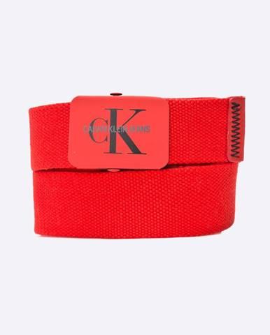 Červený opasok Calvin Klein Jeans