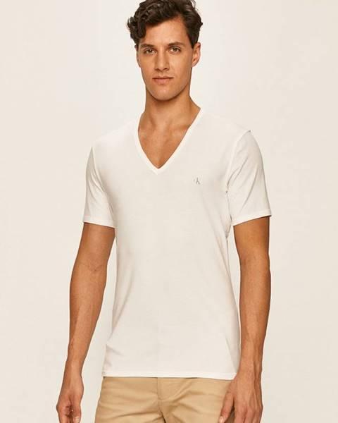Biele tričko Calvin Klein Underwear