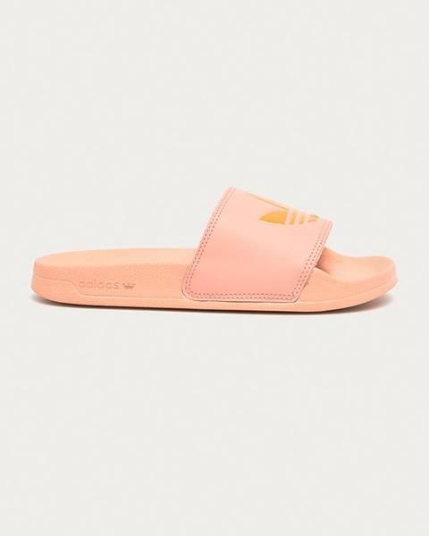 Ružové sandále adidas Originals
