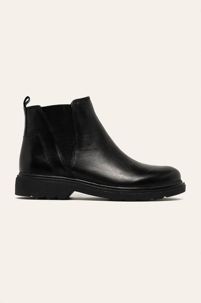 Marco Tozzi Marco Tozzi - Kožené topánky Chelsea