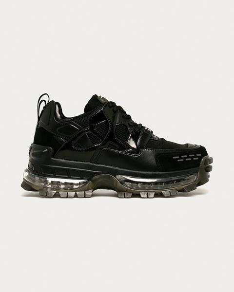 Čierne topánky Emporio Armani