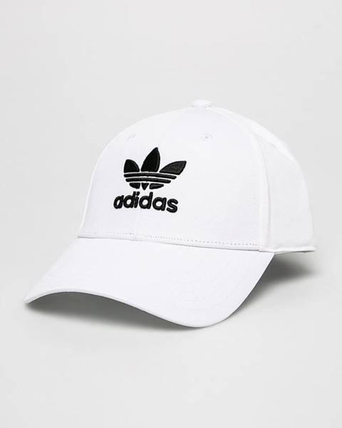 Biela čiapka adidas Originals