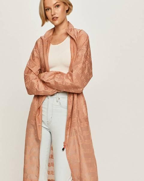 Ružová bunda Guess Jeans