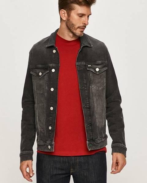 Sivá bunda Tommy Jeans