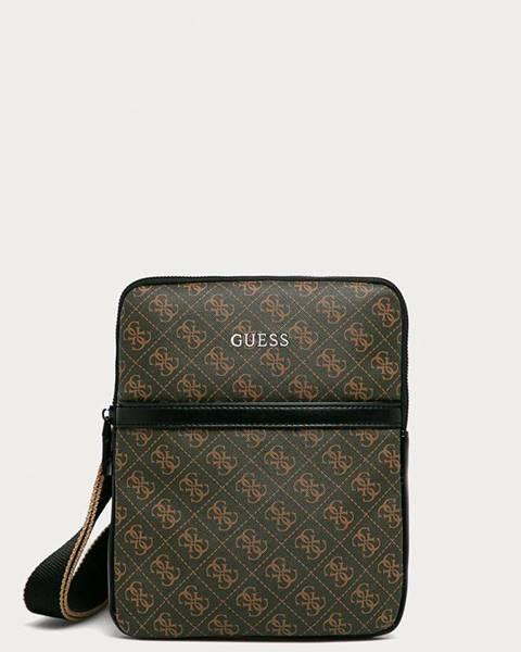 Hnedá taška Guess Jeans