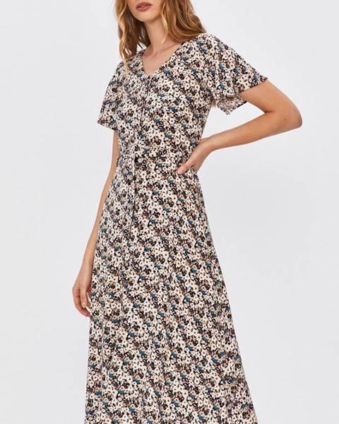 Viacfarebné šaty Answear Lab
