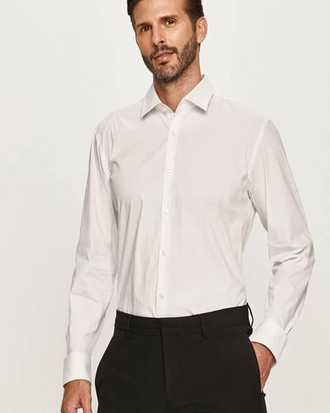 Biela košeľa HUGO
