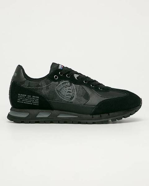 Čierne topánky Blauer
