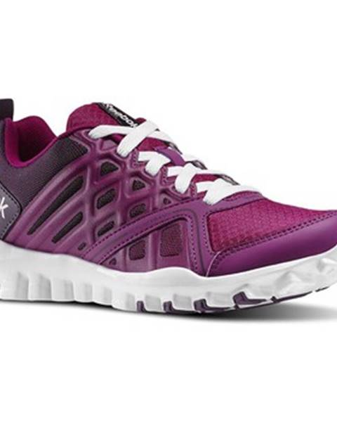 Fialové topánky Reebok Sport