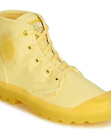 Žlté topánky Palladium