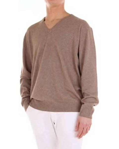 Béžový sveter R63 Erresessantatre