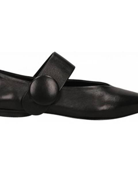 Čierne balerínky Halmanera
