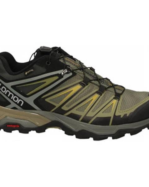 Hnedé topánky Salomon