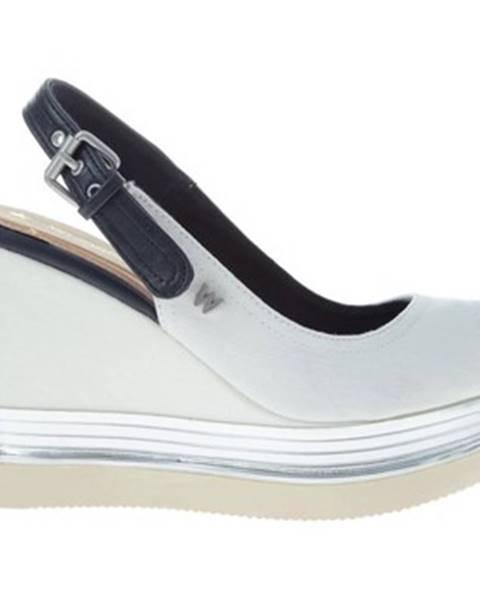 Biele sandále Wrangler