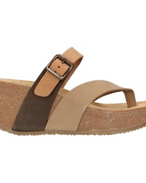 Viacfarebné sandále Bionatura