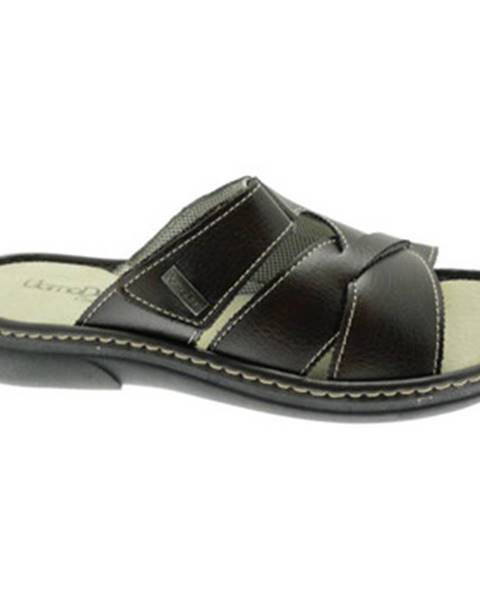 Hnedé sandále Uomodue By Riposella