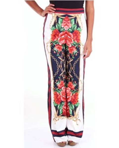 Viacfarebné nohavice Twins Beach Couture
