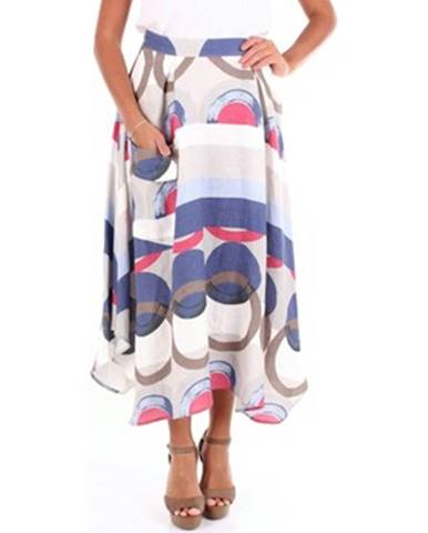 Viacfarebná sukňa Blanca Luz