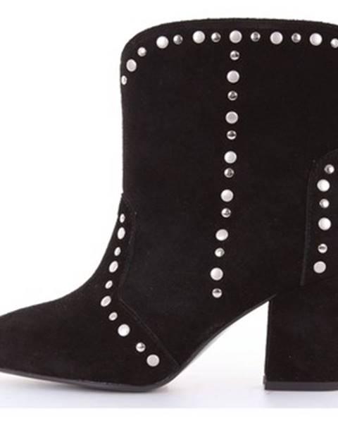 Čierne topánky Bibi Lou