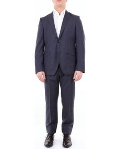 Modrý oblek Etro