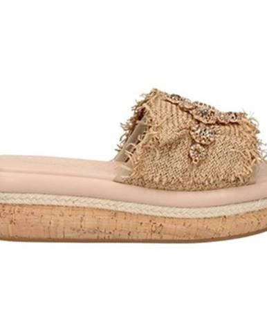Béžové sandále Emanuélle Vee