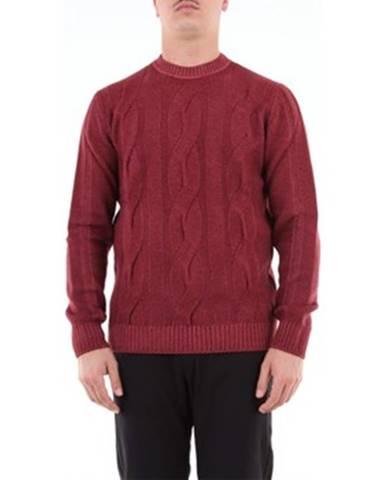 Červený sveter Angelo Marino