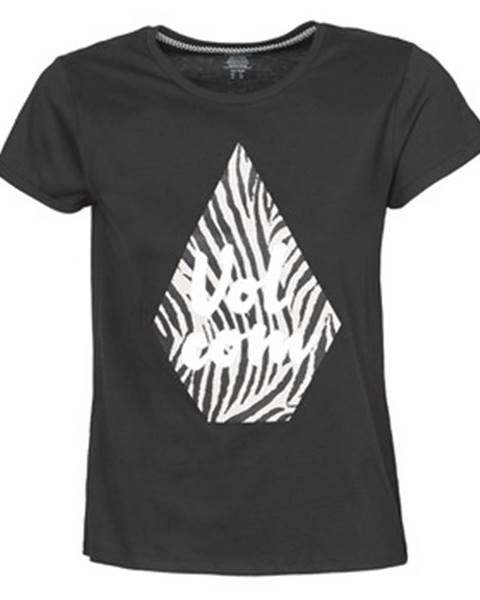 Čierne tričko Volcom