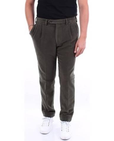 Zelené nohavice Barba Napoli