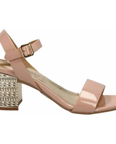 Ružové sandále Antica Cuoieria