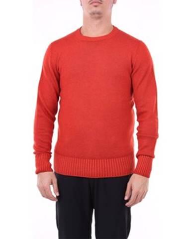 Oranžový sveter Drumohr