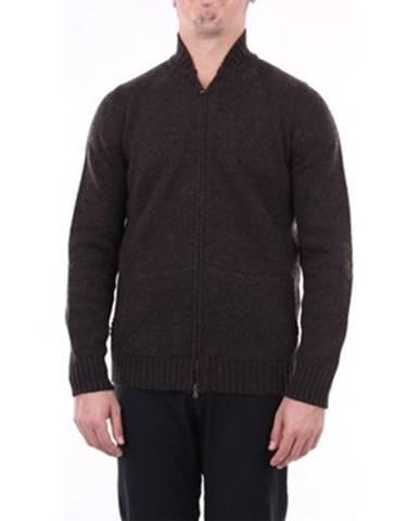 Hnedý sveter Angelo Marino