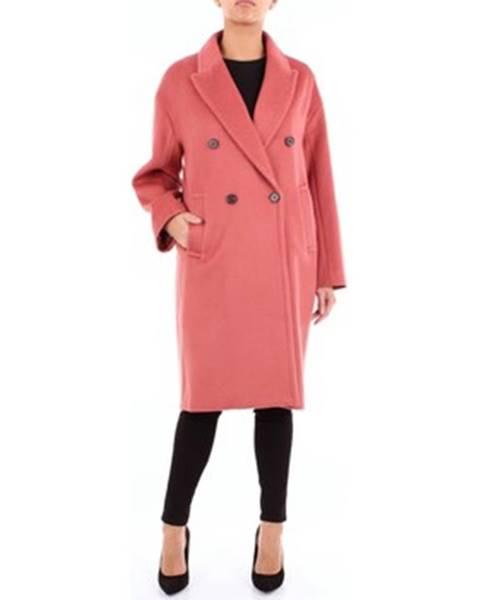 Ružový kabát Isabelle Blanche