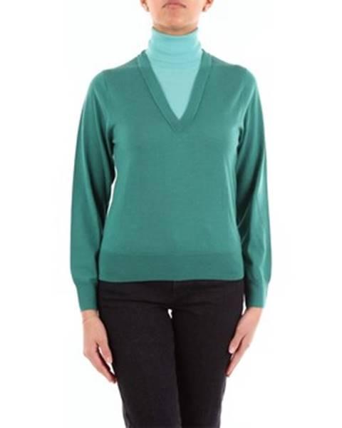Zelený sveter Dries Van Noten
