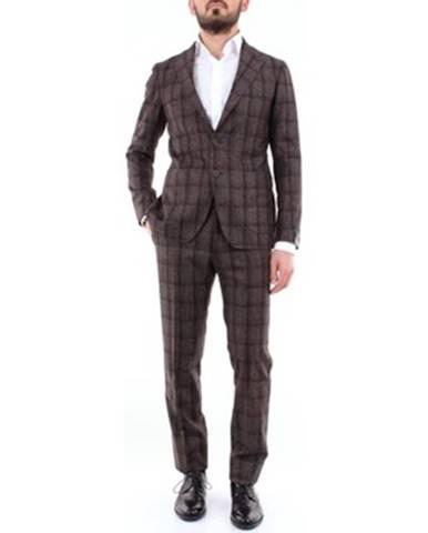 Hnedý oblek Tagliatore