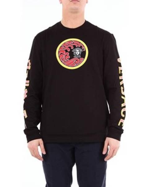 Čierne tričko Versace