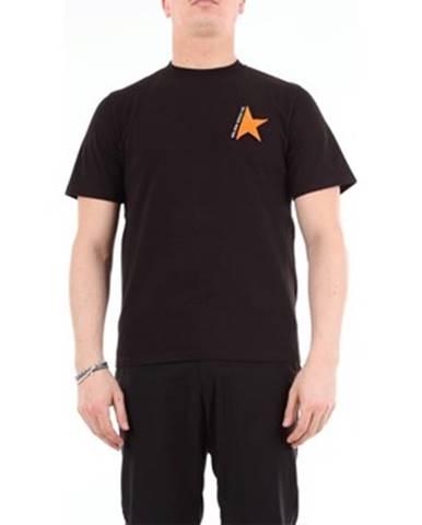 Čierne tričko Golden Goose Deluxe Brand