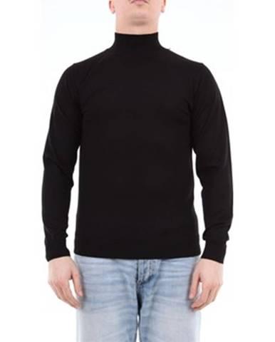 Čierny sveter Daniele Fiesoli