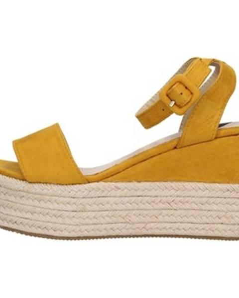 Žlté sandále Energy