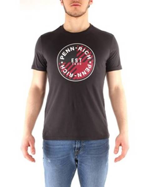 Čierne tričko Penn Rich Woolrich
