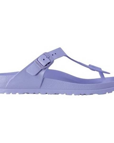 Fialové topánky Birkenstock