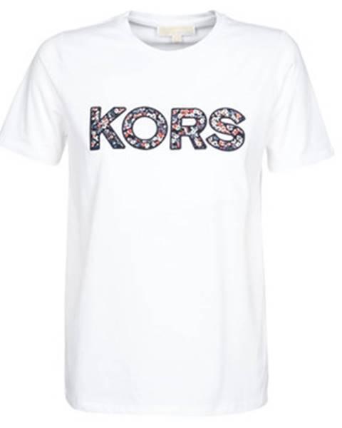 Biele tričko MICHAEL Michael Kors