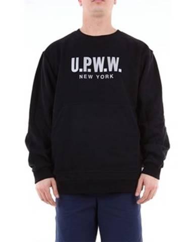 Čierna mikina U.p.w.w