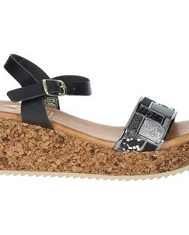 Čierne sandále Marila'