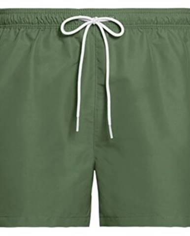 Zelené plavky Calvin Klein Jeans