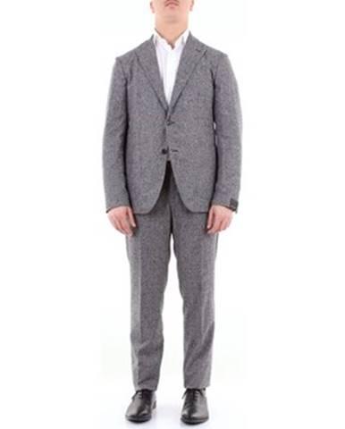 Viacfarebný oblek Tagliatore