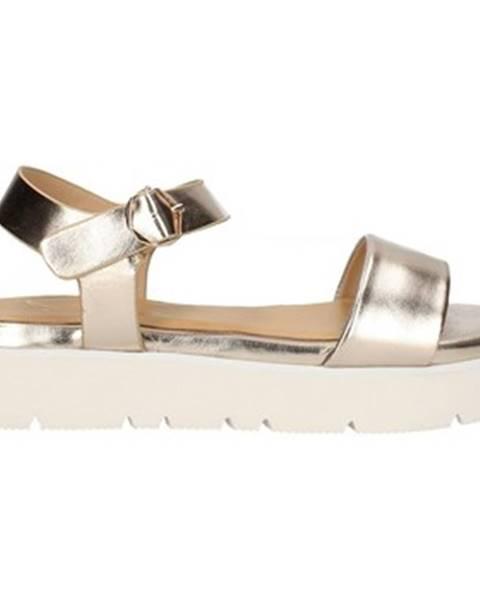 Zlaté sandále Gattinoni