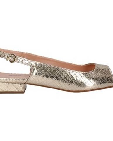 Zlaté sandále Paolo Mattei